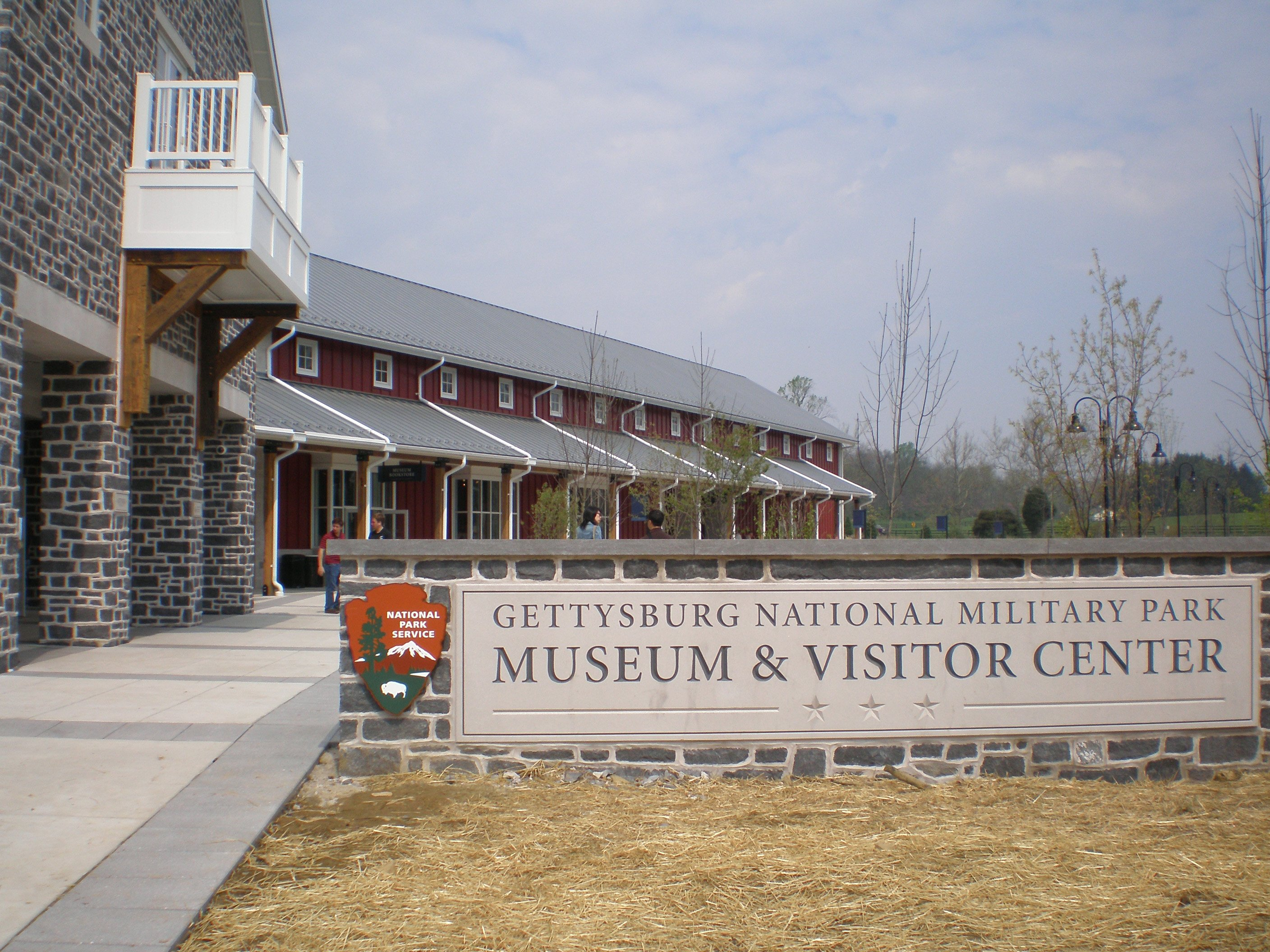 The new Gettysburg Visitors Center