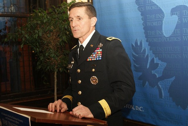 Major General Michael Flynn speaks at IWP, February 2011