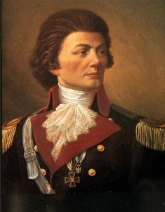 A portrait of Thaddeus Kosciuszko, by an unknown artist