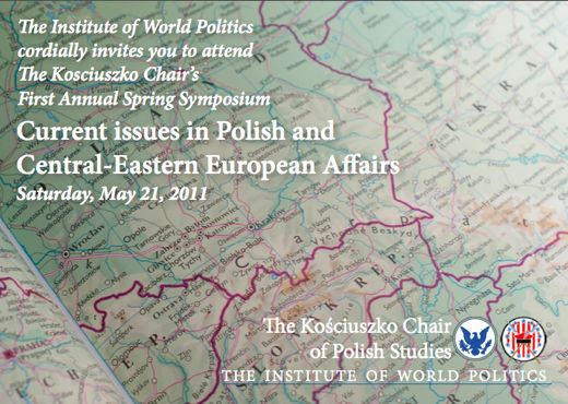 Kosciuszko Chair Spring Symposium