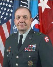 Lieutenant General David P. Valcourt