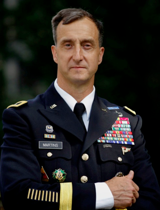 BG Mark Martins