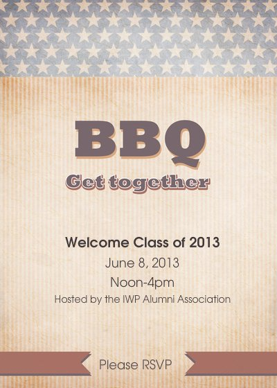 Second Annual Alumni BBQ