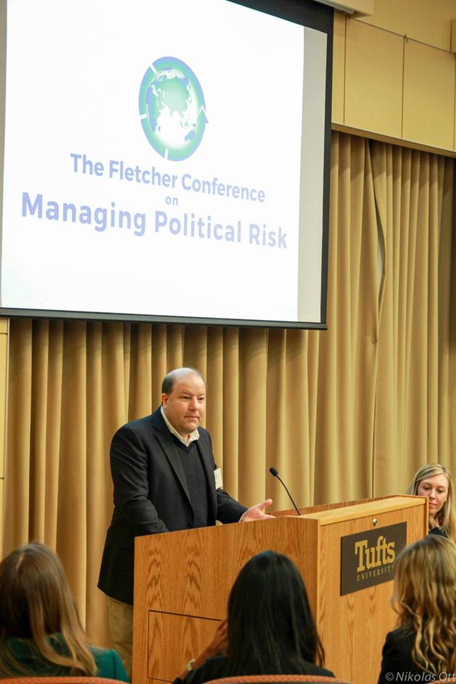 20150328 David Glancy speaking at Fletcher Conference on Managing Political Risk, Photo by Nikolas Ott