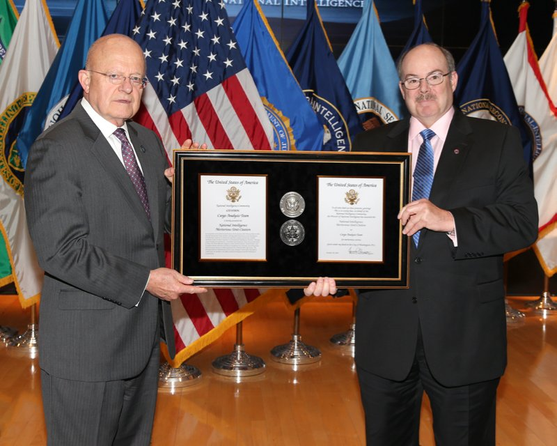 Larry Cosgriff, National Intelligence Meritorious Unit Citation