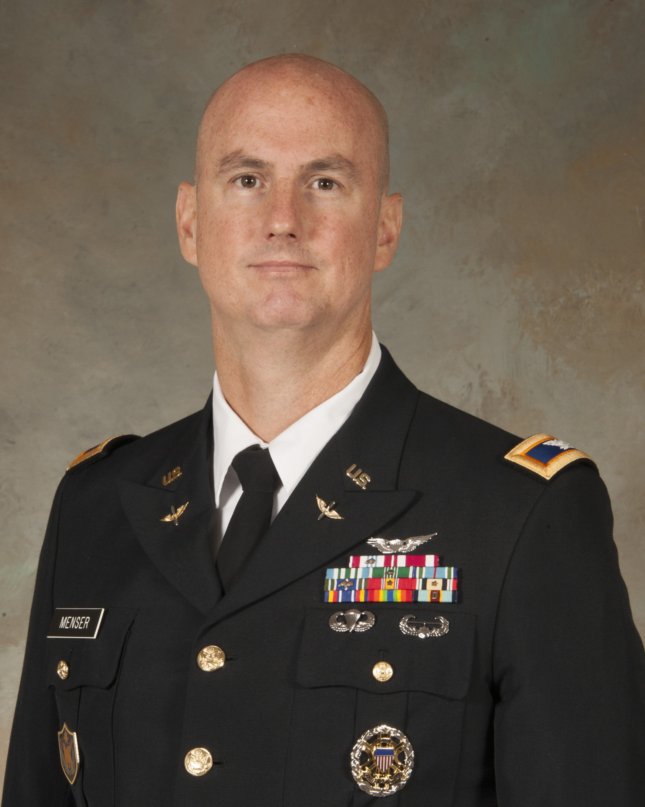 Colonel (COL) David C Menser