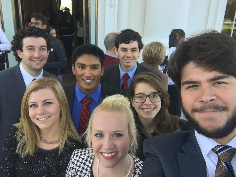 Interns Fall 2015 at White House