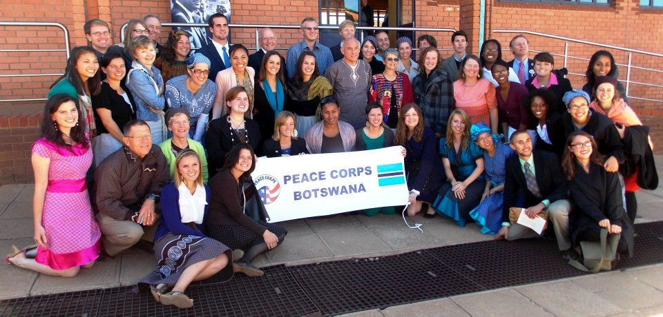 Nate Ginthy with Peace Corps Botswana
