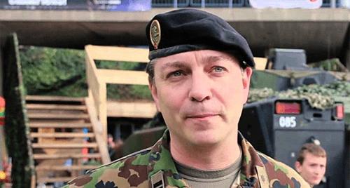 Lt. Col. Alexandre Vautravers