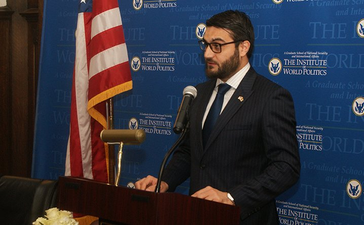 His Excellency Hamdullah Mohib