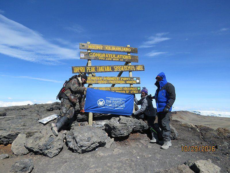 Paris Michaels, Mt. Kilimanjaro 2