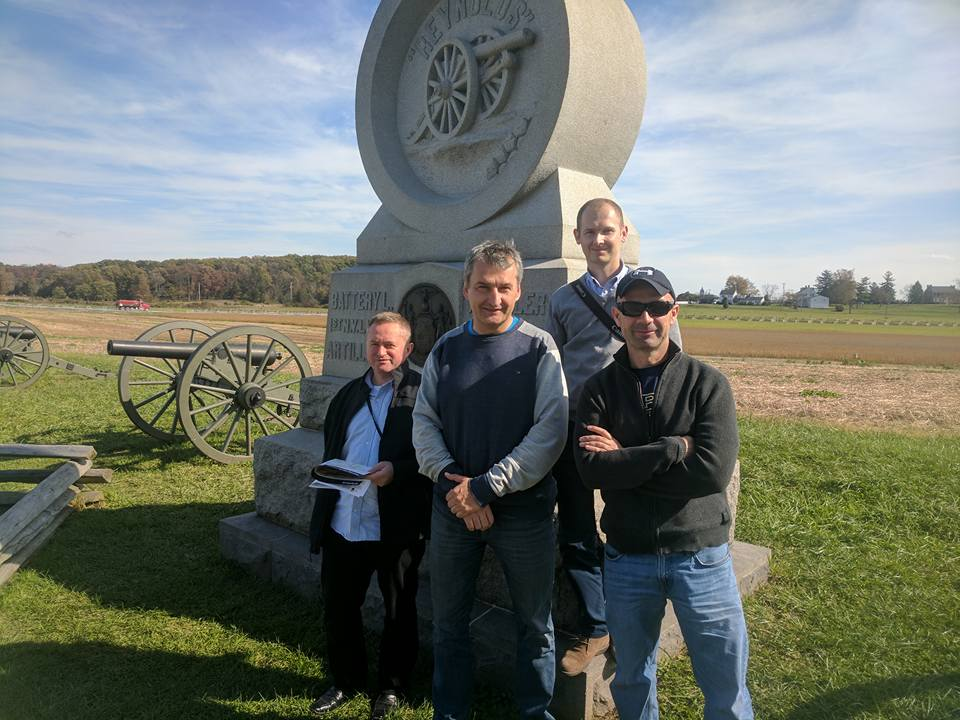 Polish Fellows at Gettysburg, 2017