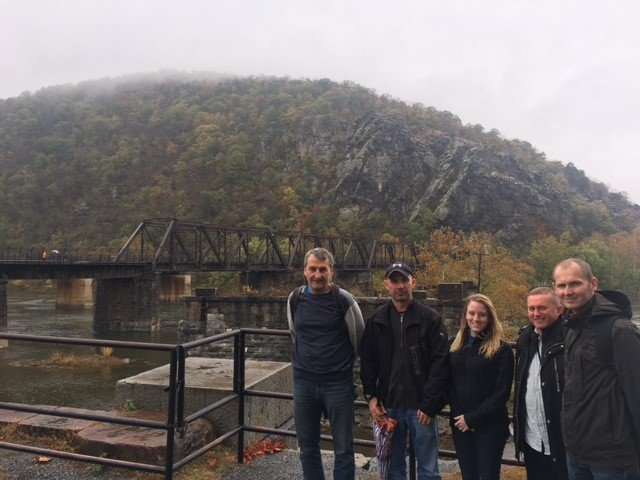 Polish Fellows at Harpers Ferry, 2017