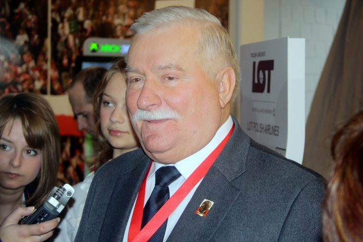 Lech Walesa, Photo by Anthony Baratier