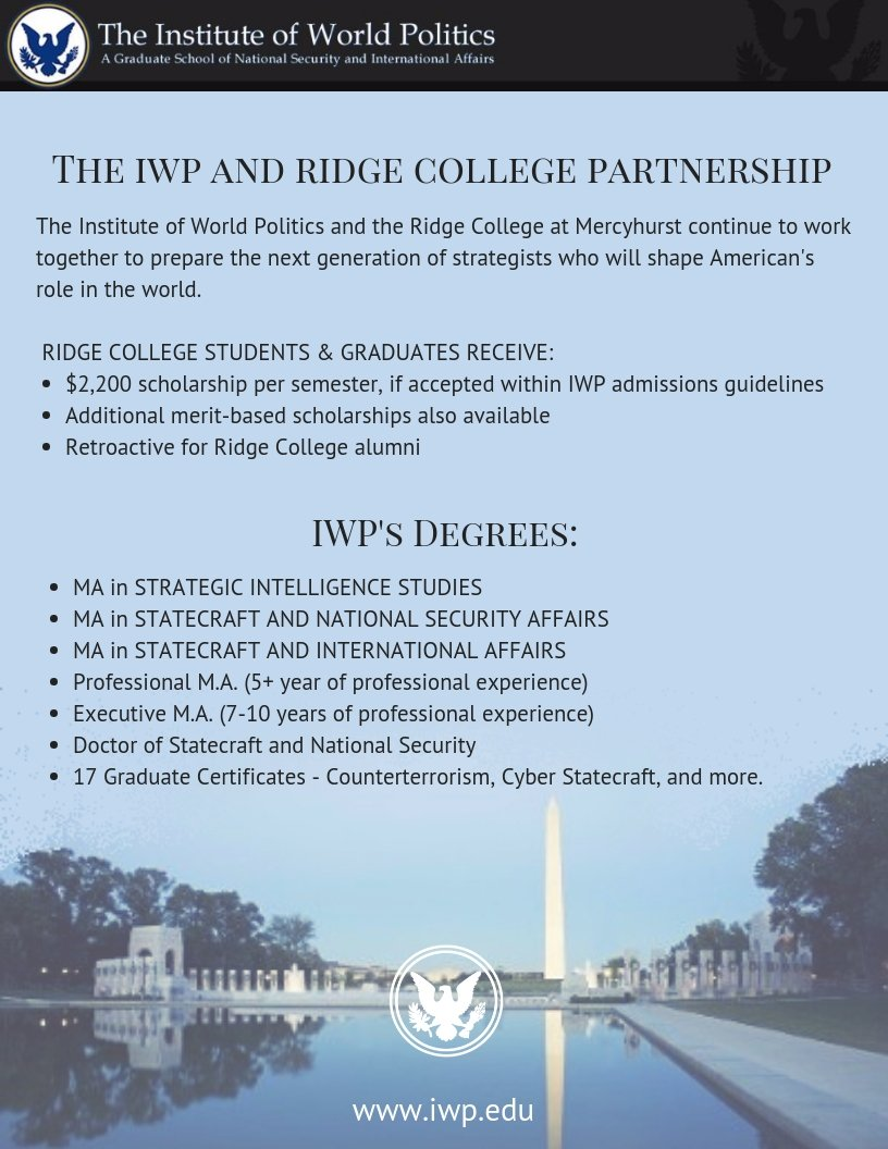 IWP and Mercyhurst