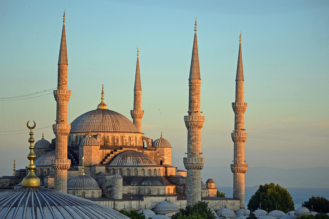 Blue Mosque, Photo by Nserrano