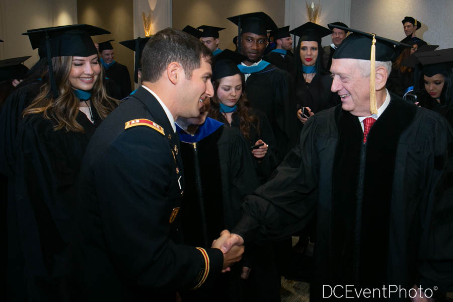 CPT (P) Greg Abide and Secretary James Mattis