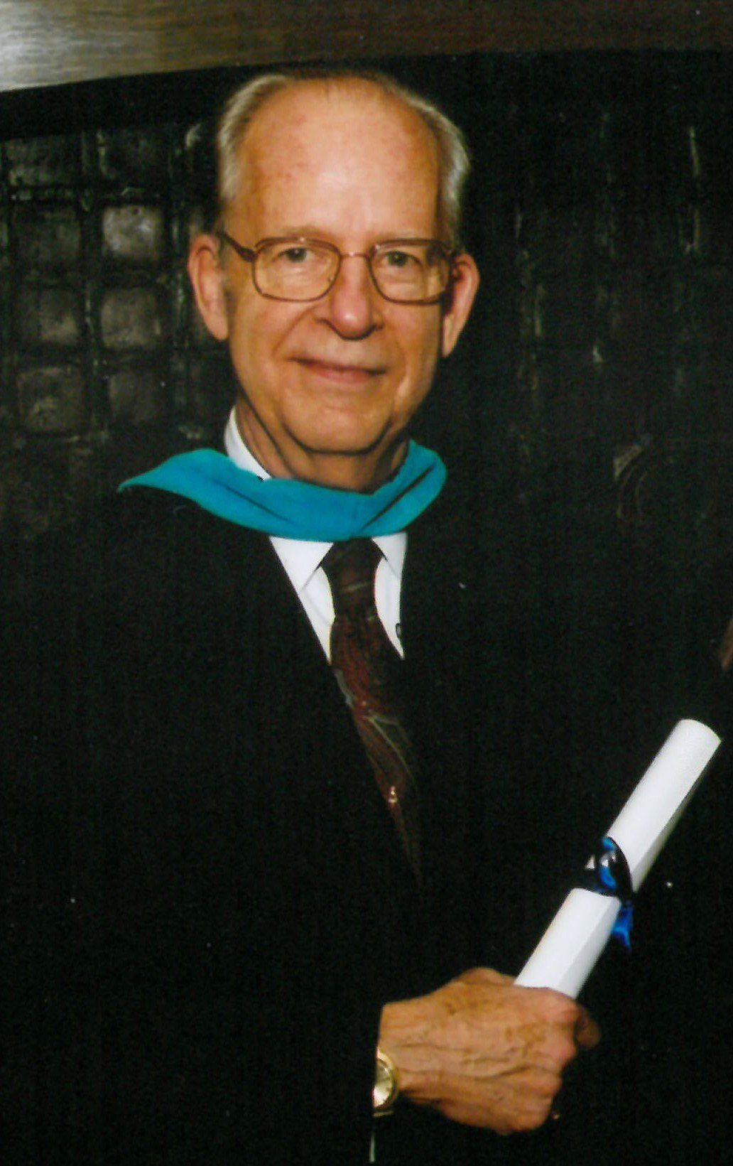 Gene Poteat at IWP Commencement