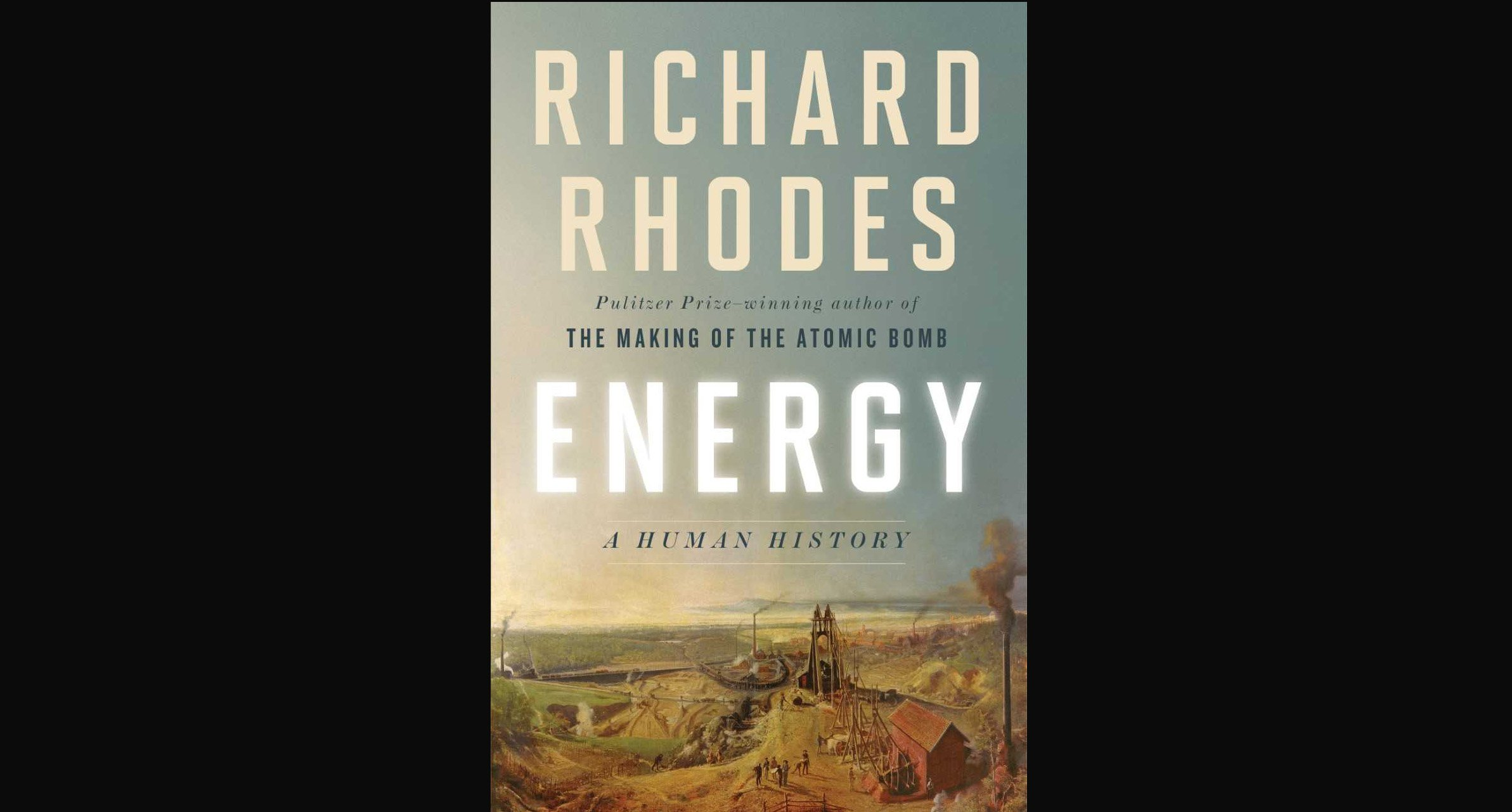 energy a human history PS