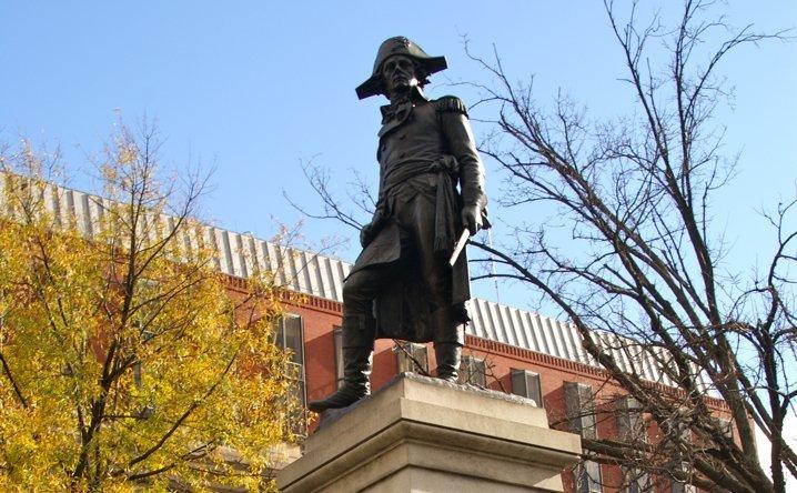 Kosciuszko Statue 444x718