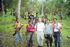 Santoli with Moro Guerrillas