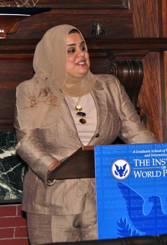 Zainab Al-Suwaij May 2010