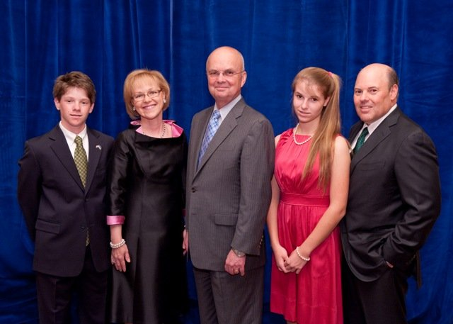 DeJoy Family and General Michael Hayden, photo by John Harrington