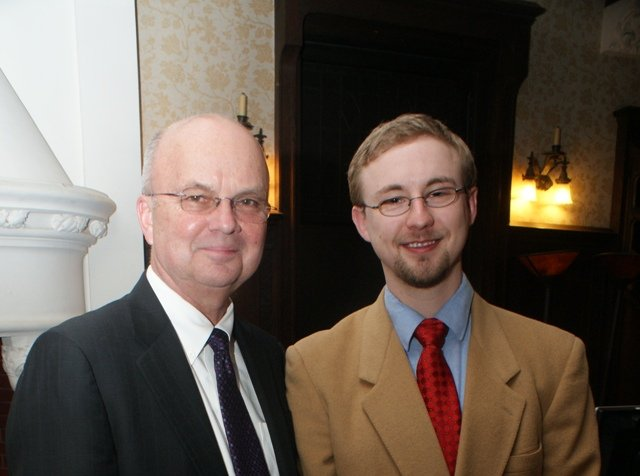 Mike Webber and General Michael Hayden