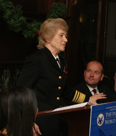 Vice Admiral Ann Rondeau, Pearl Harbor Day Dinner 2011