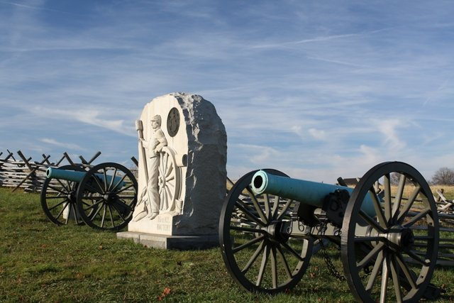 Canons at Gettysburg, 2011