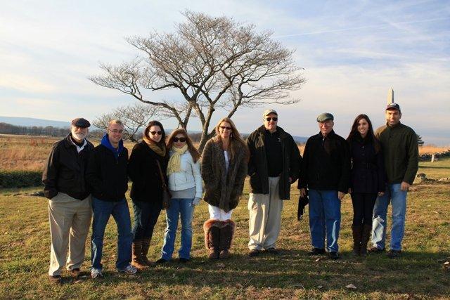 Group, Gettysburg, 2011
