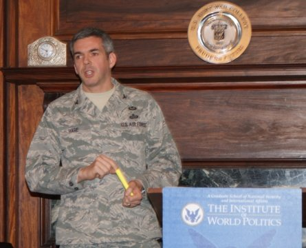 Colonel Forrest Hare, USAF discusses cybersecurity issues