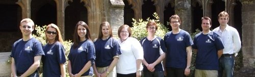 IWP students at Oxford, June 2012