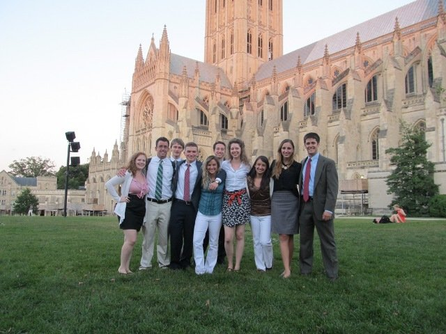 Summer interns 2012 (2) National Cathedral