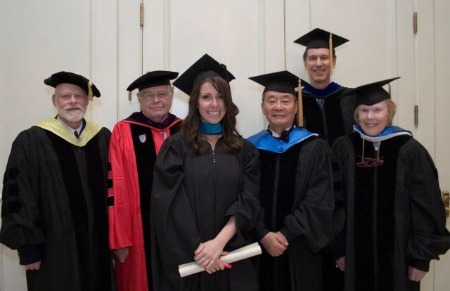 Kristen Beilman at Commencement