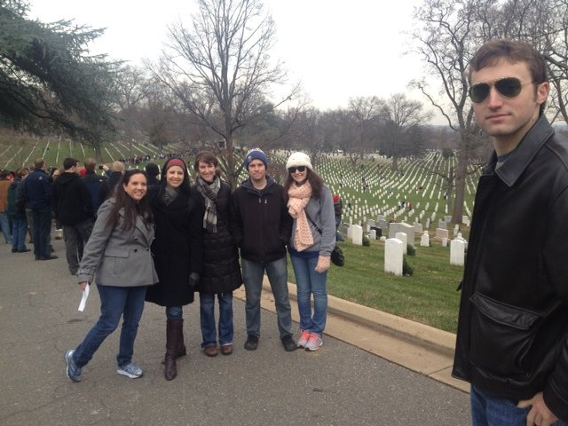 IWP students lay wreaths on graves at Arlington National Cemetery 4