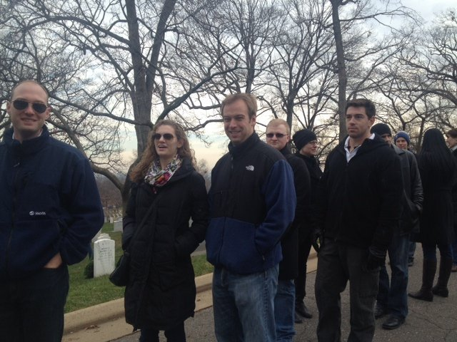 IWP students lay wreaths on graves at Arlington National Cemetery 5