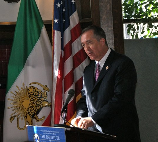 Rep Trent Franks (R-AZ), Democratic Transition in Iran Conference March 2013