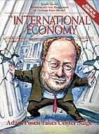 The International Economy Magazine, Cover, Winter 2013