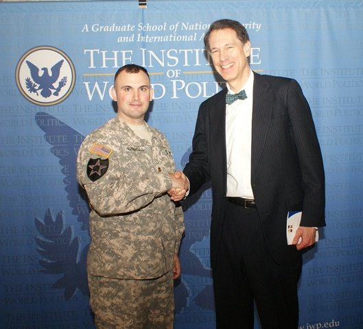 Major Aaron J. Kuykendall and John Lenczowski, April 18, 2013