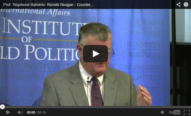 Ray Batvinis, Reagan Intelligence Lecture April 2013