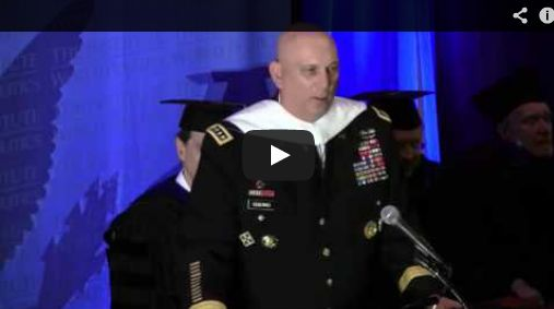 VIDEO: General Raymond T. Odierno, Commencement 2013