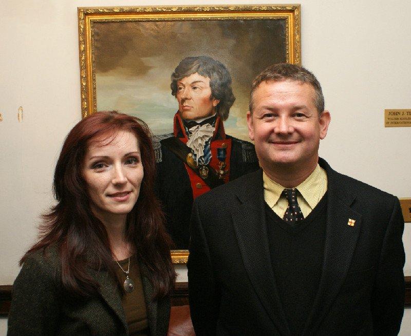 Dr. Elizabeth Radziszewski and Dr. Marek Chodakiewicz