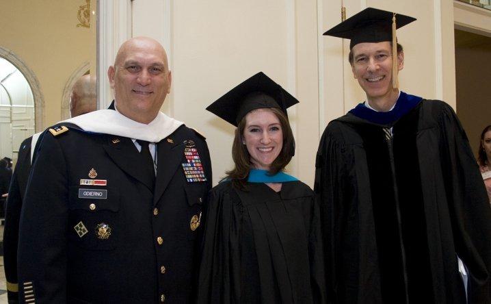 General Raymond T. Odierno, Andrea Kiser, John Lenczowski 444x718