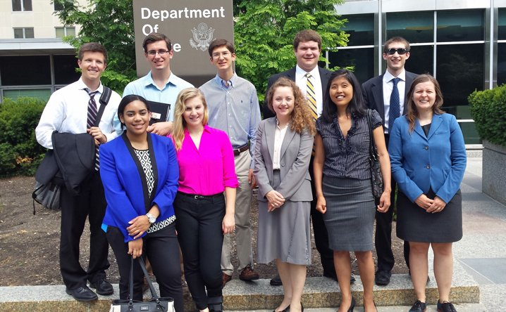 Interns at the State Department, Summer 2014 444x718