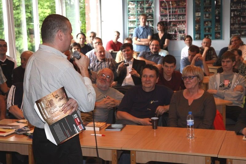 Marek Chodakiewicz speaking in Poland, August 2014