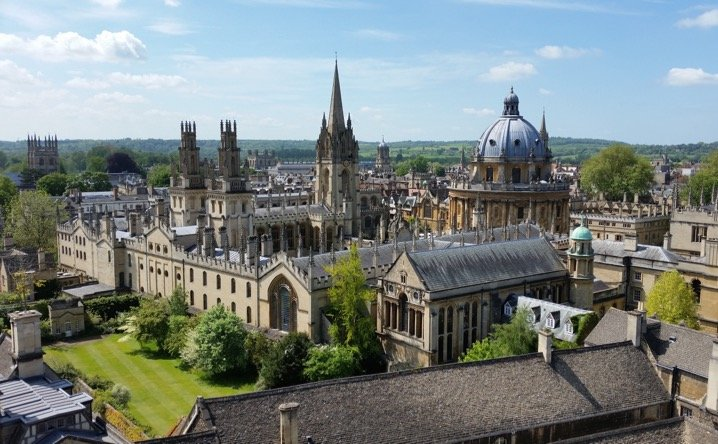 Oxford - View From New College Tower, Photo by IWP student Alex