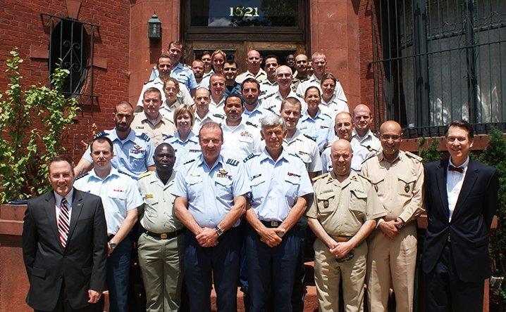 Belgian Command and General Staff College at IWP, June 2016