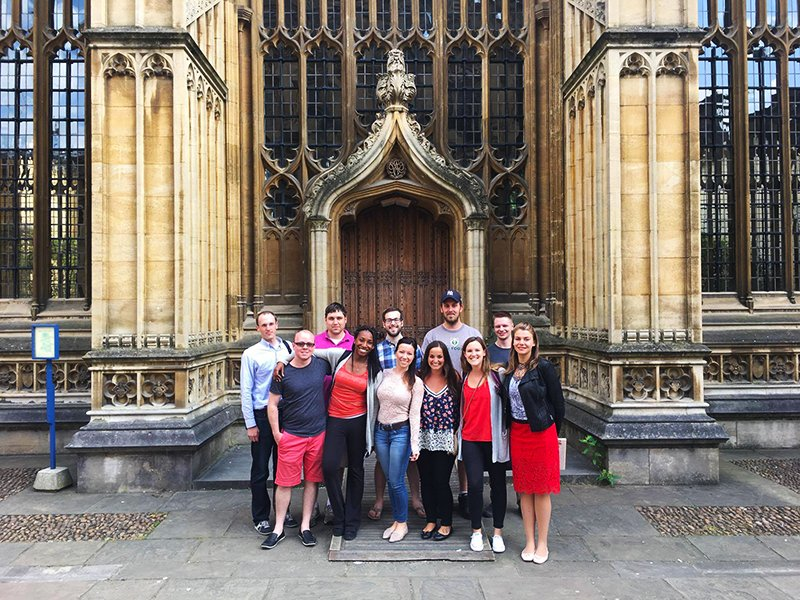 IWP at Oxford: Summer of 2017