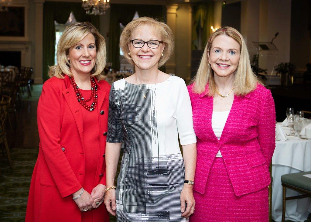 Jackie Wieland, Aldona Wos, Frances Bullock